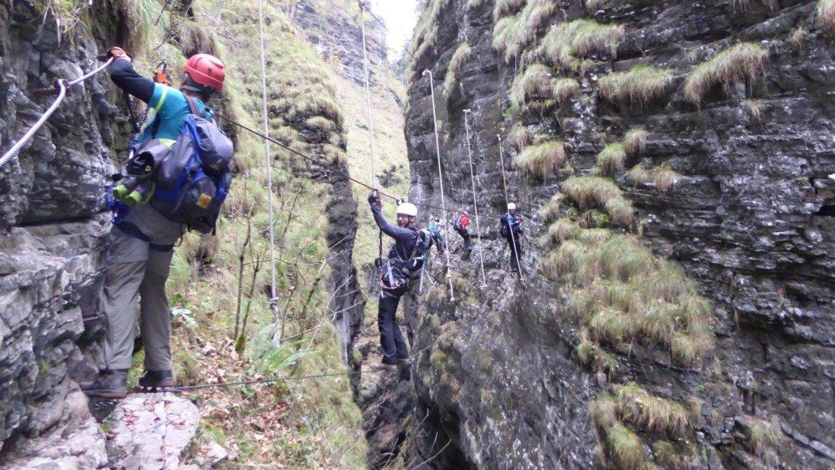 Klettersteig Wolfgangsee : Mein land dein klettersteig