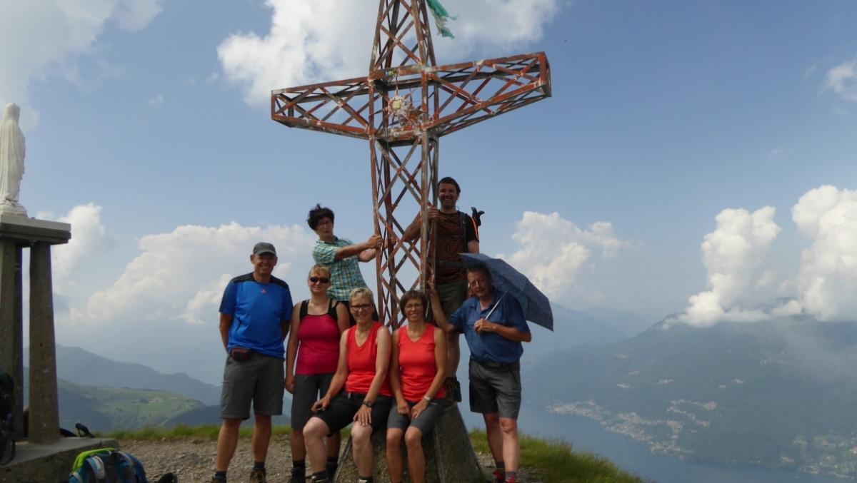 Klettersteig Comer See : Eine bergwanderwoche am comer see